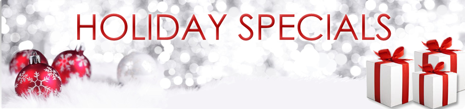 Holiday Special Massage Banner